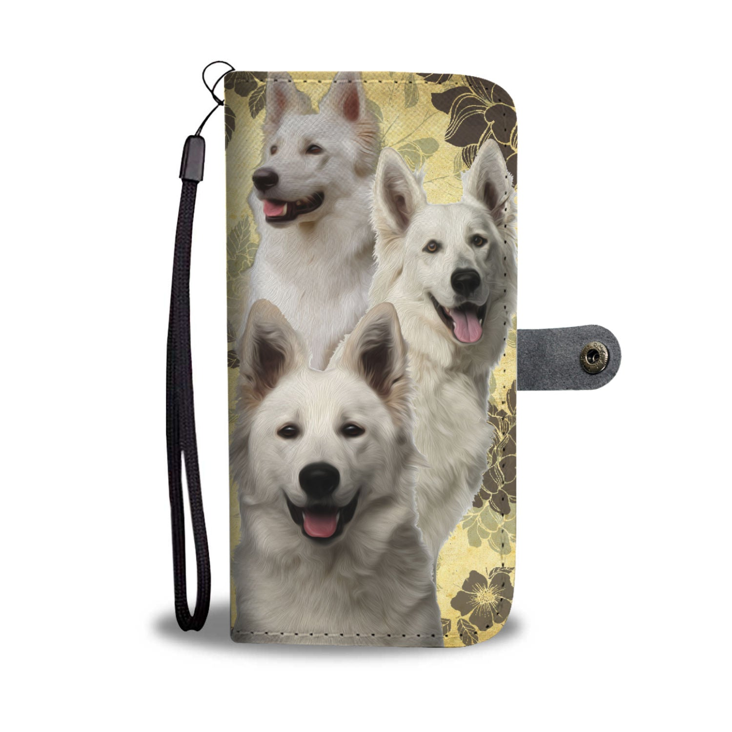 Berger Blanc Suisse - Wallet Case