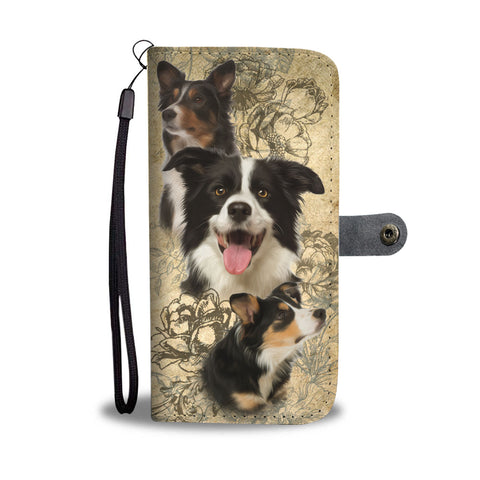 Border Collie - Wallet Case