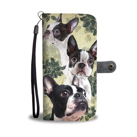 Boston Terrier - Wallet Case