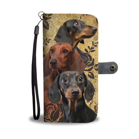 Dachshund - Wallet Case