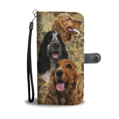 English Cocker Spaniel - Wallet Case