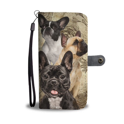 French Bulldog - Wallet Case