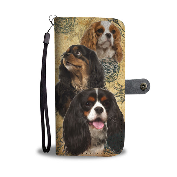 Cavalier King Charles Spaniel - Wallet Case