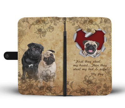 First they steal my heart - my pug