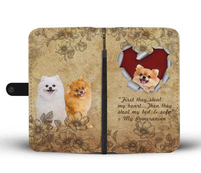 First they steal my heart - my pomeranian