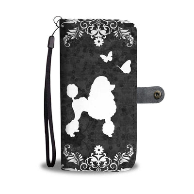 Poodle Wallet Case