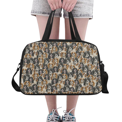 Cavalier King Charles Spaniel Travel Bag Fitness Handbag