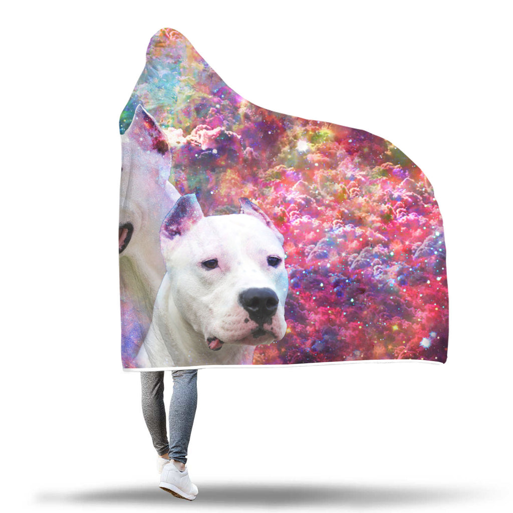 Dogo Argentino Hooded Blanket – Dream Come True Chanel