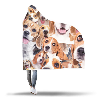 Beagle Hooded Blanket