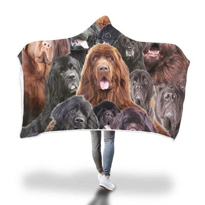 Newfoundland Hooded Blanket