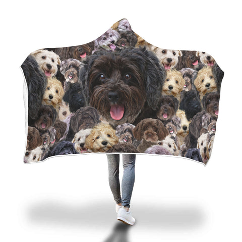 Schnoodle Hooded Blanket