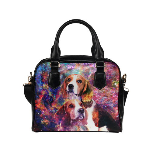 Beagle Yin Yang Shoulder Handbag