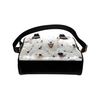 Samoyed Face Shoulder Handbag