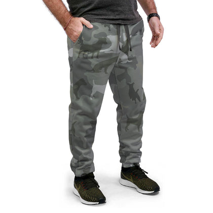 Jack Russell Terrier Camo Joggers
