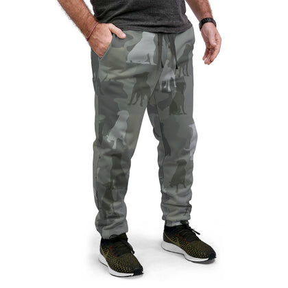 Staffordshire Bull Terrier Camo Joggers