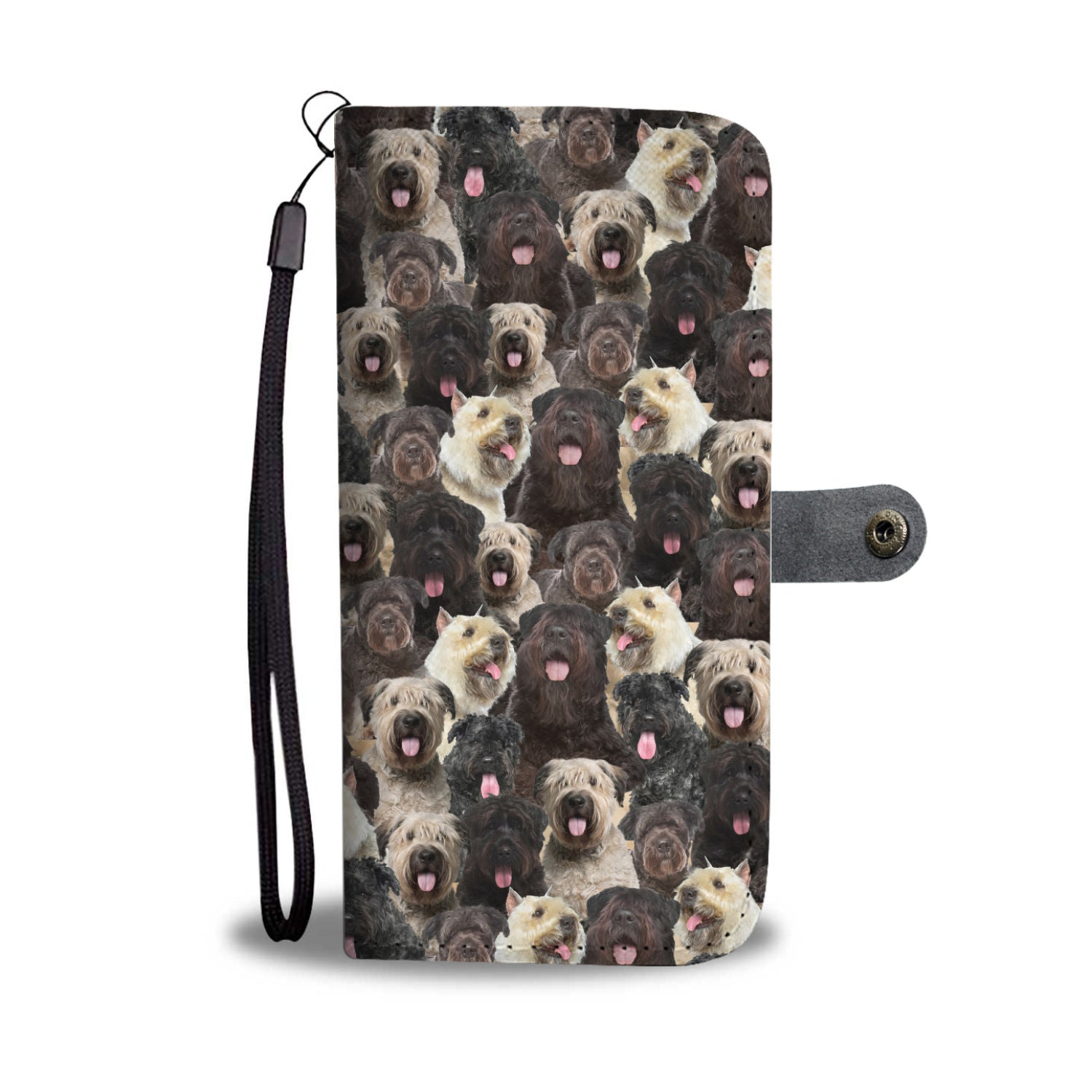 Bouvier des Flandres Full Face Wallet Case