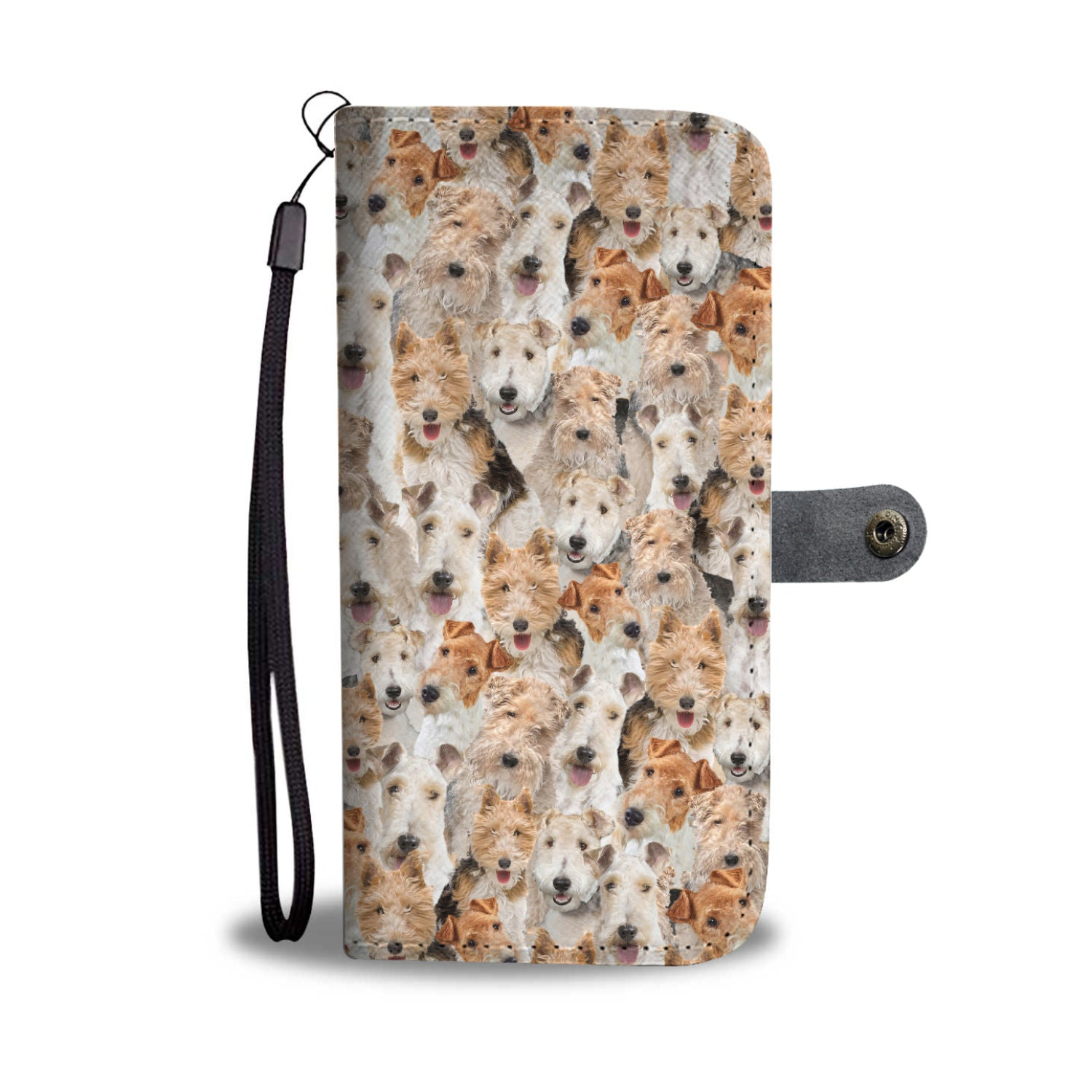 Fox Terrier Full Face Wallet Case