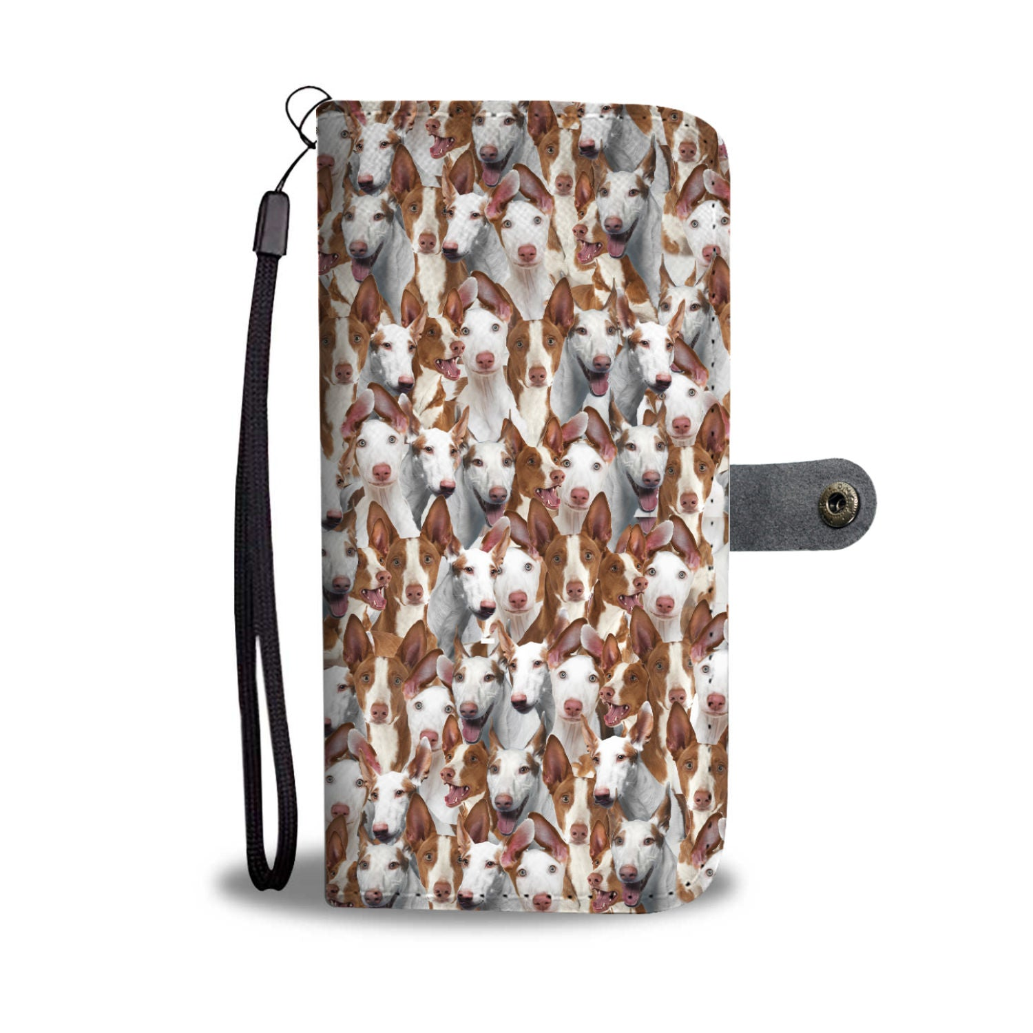 Ibizan Hound Full Face Wallet Case