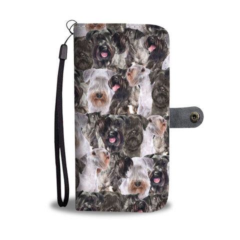Cesky Terrier Full Face Wallet Case