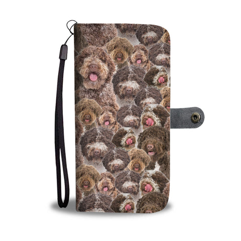 Lagotto Romagnolo Full Face Wallet Case