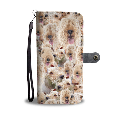 Lakeland Terrier Full Face Wallet Case