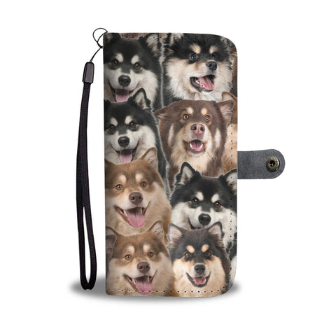 Finnish Lapphund Full Face Wallet Case