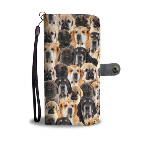Spanish Mastiff Full Face Wallet Case