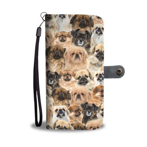 Tibetan Spaniel Full Face Wallet Case