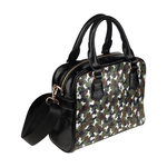 Beagle Camo Shoulder Handbag
