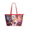 American Pit Bull Terrier Leather Tote Bag