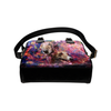 Greyhound Yin Yang Shoulder Handbag