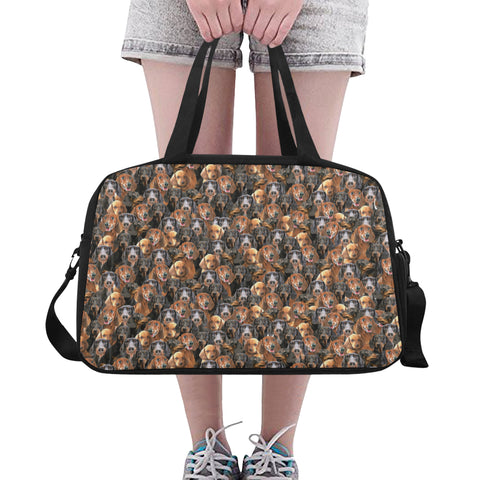 Dachshund Travel Bag Fitness Handbag