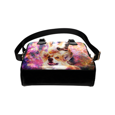 Pembroke Welsh Corgi Yin Yang Shoulder Handbag
