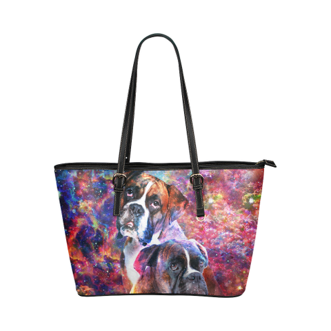 Boxer Leather Tote Bag