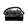 Schipperke Face Shoulder Handbag