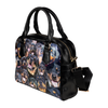 Rottweiler Face Shoulder Handbag