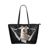 Akita Leather Tote Bag