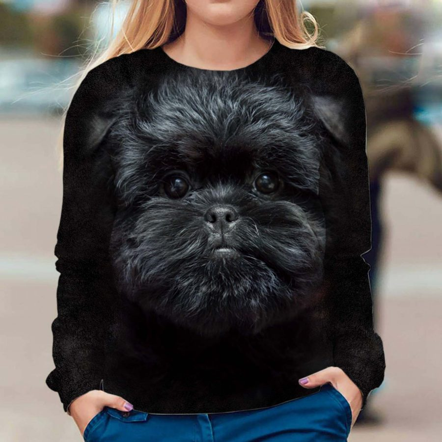 Affenpinscher - Face Hair - Premium Sweatshirt