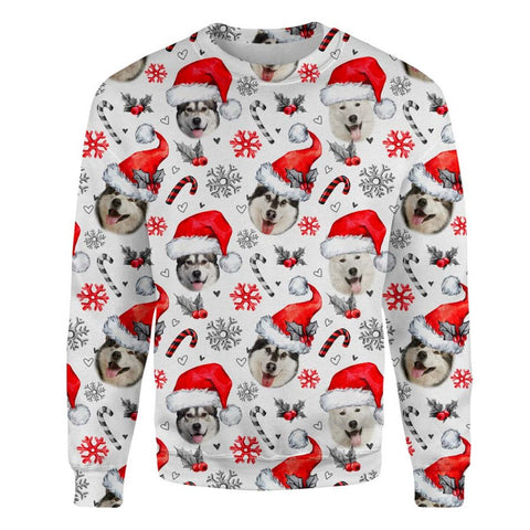 Alaskan Xmas Decor Sweatshirt