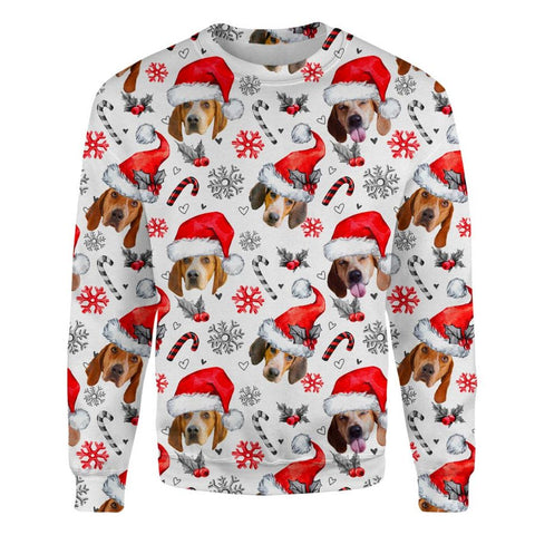 American English Coonhound Xmas Decor Sweatshirt