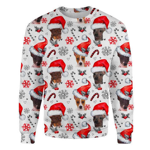 American Hairless Terrier Xmas Decor Sweatshirt