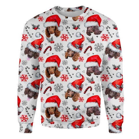 American Water Spaniel Xmas Decor Sweatshirt