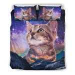 Cat Sky Night Bedding Set