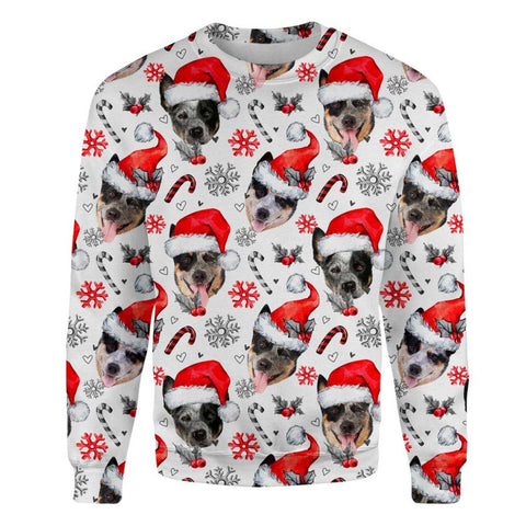 Australian Cattle Dog Xmas Decor Sweatshirt
