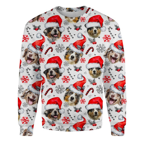 Australian Shepherd Xmas Decor Sweatshirt