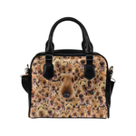 Airedale Terrier Face Shoulder Handbag