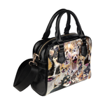 Chihuahua Face Shoulder Handbag