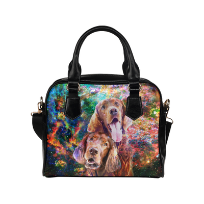 Irish Setter Yin Yang Shoulder Handbag