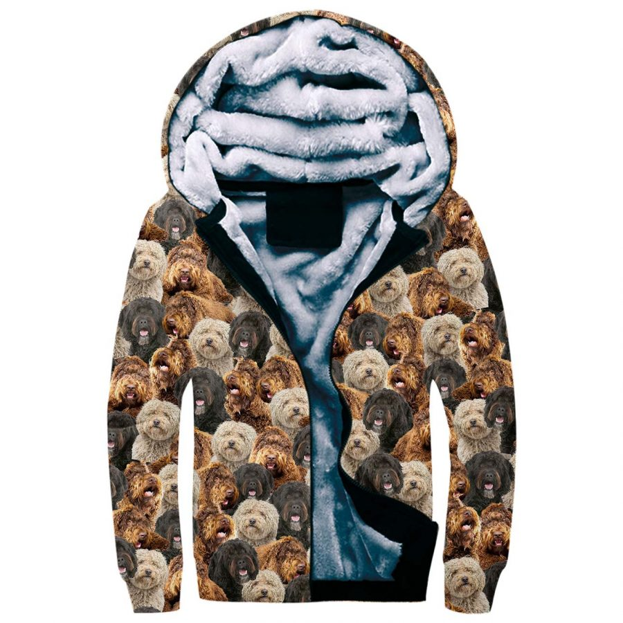 Barbet Full Face Fleece Hoodie