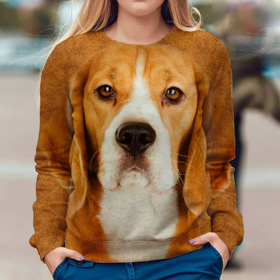Beagle - Face Hair - Premium Sweatshirt